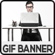 Business Animated GIF Banner Set - GraphicRiver Item for Sale
