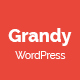 Grandy - Creative MultiPurpose WordPress Theme - ThemeForest Item for Sale