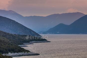 sunrise in Ionian Islands