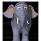 Cartoon Elephant RIGGED - 3DOcean Item for Sale