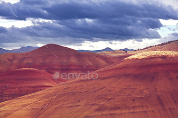 Colorfull hills