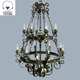 Forged chandelier 3d model - 3DOcean Item for Sale