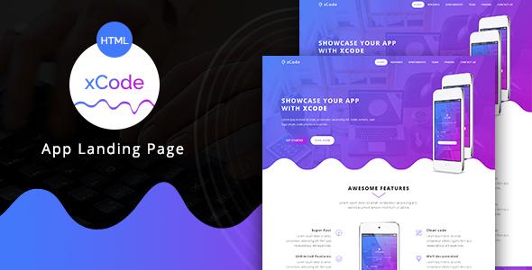 xCode - App Landing Page