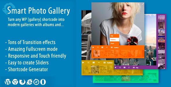 Smart Photo Gallery – Responsive WordPress Plugin Nulled Free Download