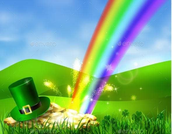 St Patricks Day Symbol Green Hat