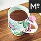 Ceramic Mug with Spoon Mock-ups Set - GraphicRiver Item for Sale