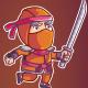 Ninja Game Sprite - GraphicRiver Item for Sale