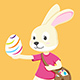 Easter Bunny Character - GraphicRiver Item for Sale