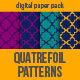 12 Indian Quatrefoil Patterns - GraphicRiver Item for Sale