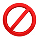 3D No Sign - GraphicRiver Item for Sale