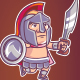 Spartan Game Sprite - GraphicRiver Item for Sale