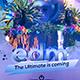 EDM Festival Banner - GraphicRiver Item for Sale