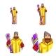 Vector Pop Art Ski Avatar - GraphicRiver Item for Sale