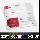Gift Certificate Cover Mock-up - GraphicRiver Item for Sale