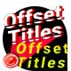 Offset Titles - VideoHive Item for Sale