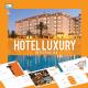 Hotel Luxury - Keynote PresentationTemplate - GraphicRiver Item for Sale