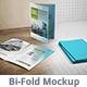Bi-fold Brochure Mock-up 1 - GraphicRiver Item for Sale
