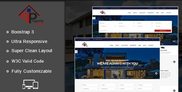 PropertyPress HTML Template