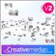 Mosaic Logo Presentation - VideoHive Item for Sale
