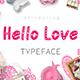 Hello Love - Valentine's Day Font - GraphicRiver Item for Sale