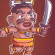 Cannibal Game Sprite - GraphicRiver Item for Sale