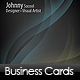 Clean, Elegant, Business Cards - GraphicRiver Item for Sale