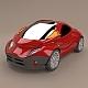 Futuristic city vehicle concept - 3DOcean Item for Sale