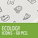 50 Ecology Business Icons - GraphicRiver Item for Sale