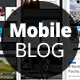 Mobile Blog and Articles Set for Apps - GraphicRiver Item for Sale