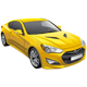 Korean Sports Coupe - GraphicRiver Item for Sale