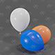 Balloons 3D model