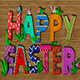 Clay Happy Easter Text - VideoHive Item for Sale