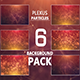 Plexus 6 Backgrounds Pack - VideoHive Item for Sale