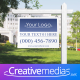 Real Estate Sign Logo - After Effects Template - VideoHive Item for Sale
