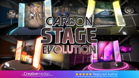 Carbon Stage Evolution – After Effects Template