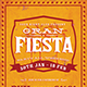 Gran Fiesta Flyer Template - GraphicRiver Item for Sale