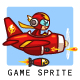 Red Thunder Plane Game Sprites - GraphicRiver Item for Sale