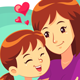 I Love My Mother - GraphicRiver Item for Sale