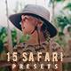 Safari Lightroom Presets - GraphicRiver Item for Sale