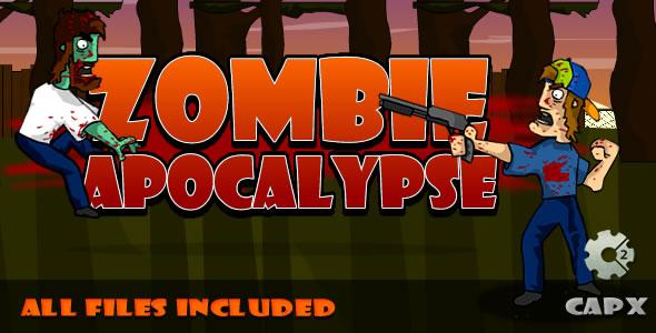 Zombie Apocalypse - (CAPX & HTML) Game!