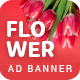 Flower Shop | AD Banner Template HTML5 - CodeCanyon Item for Sale