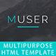 Muser_Multipurpose HTML Template