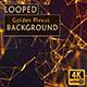 Golden Fast Plexus Background - VideoHive Item for Sale