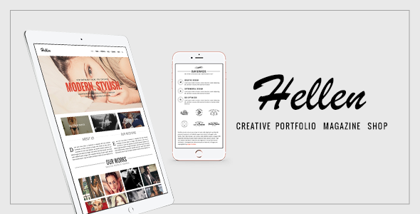 Hellen - Elegant & Minimalist WordPress Theme