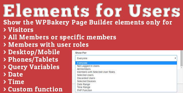 Elements for Users - Addon for WPBakery Page Builder Free Download #1 free download Elements for Users - Addon for WPBakery Page Builder Free Download #1 nulled Elements for Users - Addon for WPBakery Page Builder Free Download #1