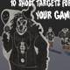 Shoot Targets Pack - 3DOcean Item for Sale