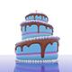 Birthday Cake - 3DOcean Item for Sale