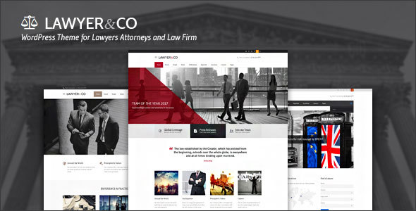 Lawyer&Co | WordPress Theme for Attorneys and Legal Firms