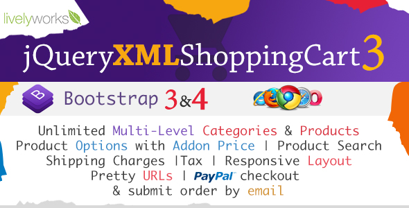 JQuery XML Shopping Cart - Store - Shop