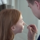 Make-up Artist Doing Make-up Beautiful Teenage Girl with Red Hair - VideoHive Item for Sale